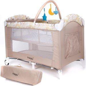 Die Besten Reisebetten - Froggy® Kinderreisebett CPL02