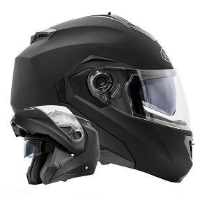 Motorradhelme Test - ATO-Moto Montreal Klapphelm