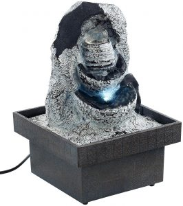 Bester Preis - infactory Zimmerbrunnen Felsenquelle