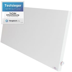 Der Testsieger - TecTake® Infrarotheizung Hybrid Paneel