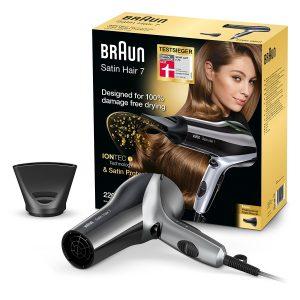 Bestes Preis-Leistungsverhältnis - Braun Satin Hair 7 Haartrockner HD710