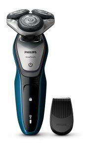 Bestes Preis-Leistungsverhältnis -Philips AquaTouch Nass- und Trockenrasierer Präzisionstrimmer S5420/06