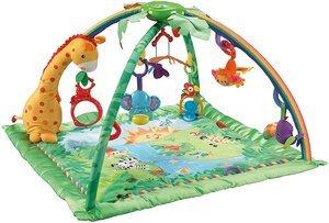 Bestes Preis-Leistungsverhältnis -Mattel Fisher-Price K4562 Rainforest Erlebnisdecke